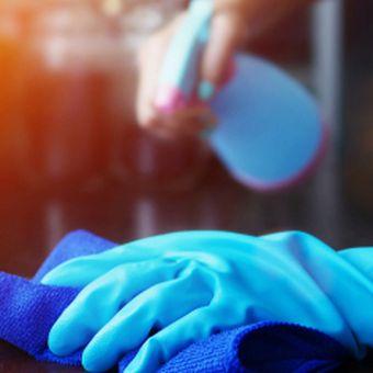 Ilustrasi disinfektan dan jenisnya