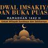 INFOGRAFIK: Jadwal Imsak dan Buka Puasa Surabaya Ramadhan 1442 H
