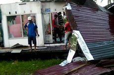 41 Rumah di Barito Kuala Rusak Diterjang Puting Beliung, Pohon dan Tiang Listrik Tumbang