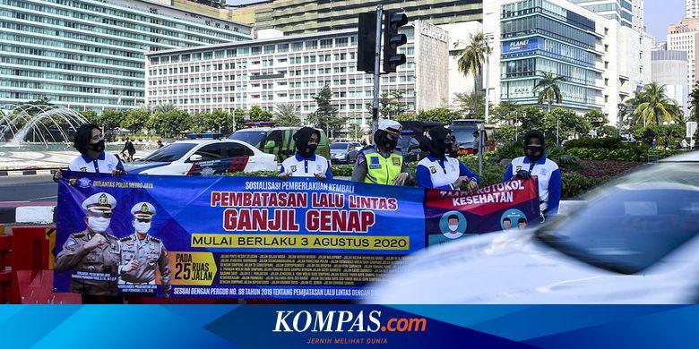 Ganjil Genap di Jakarta Dikritik: Tak Bisa Batasi Pergerakan Warga hingga Khawatir Klaster Baru