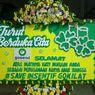 Aksi Protes Kurir GoKilat, Mogok Antar Barang dan Kirim Karangan Bunga