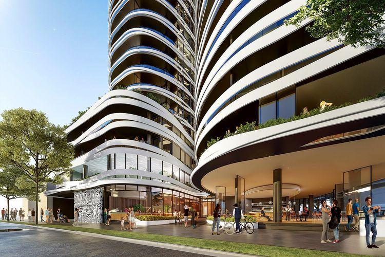 Southbank Apartment, Melbourne, Australia.