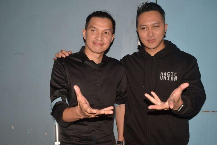 Edison Wardhana dan Demian Aditya saat ditemui di kawasan Tendean, Jakarta Selatan, Selasa (27/2/2018).