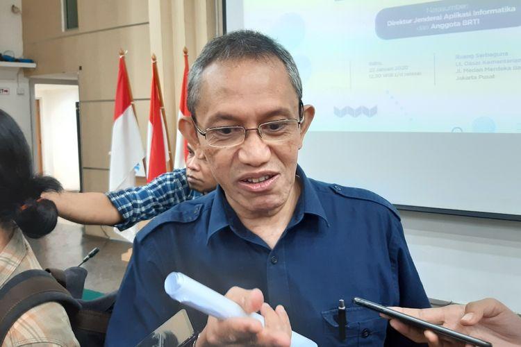 Anggota Badan Regulasi Telekomunikasi Indonesia (BRTI), I Ketut Prihadi Kresna Murti.