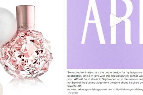 Ariana Grande Resmi Luncurkan Produk Wewangian