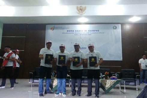 Tiga BUMN Gelar Kuliah Bersama di UIN Sumatera Utara