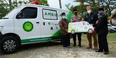 Akses ke Faskes Sulit, Dompet Dhuafa Sumbangkan Ambulans untuk Warga Desa Tanjung Raya