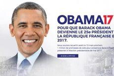 Ribuan Orang Teken Petisi Minta Obama Maju dalam Pilpres Perancis