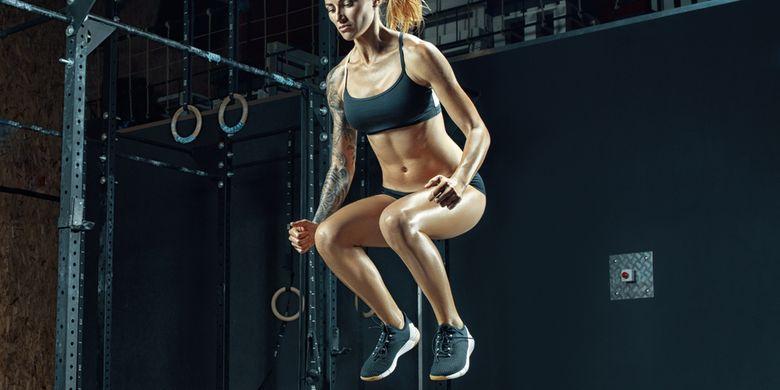 ilustrasi jump squat