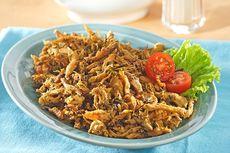 Resep Serundeng Ayam Suwir Pedas, Teman Makan Nasi Hangat
