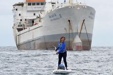 VIDEO: Saat Menteri Susi Asyik Mengayuh di Teluk Sabang...