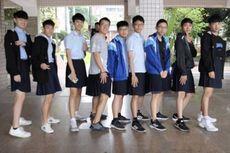 Murid Pria di Sekolah Taiwan Ini Pakai Seragam Rok, Apa Sebabnya?