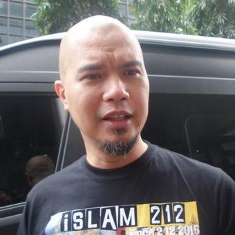 Ahmad Dhani didampingi tim kuasa hukumnya di Bareskrim Mabes Polri, Jakara Pusat, Kamis (31/8/2017).
