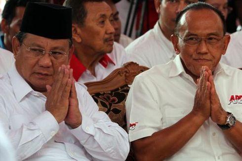 Kampanye di Subang, Prabowo Ditemani Aburizal dan Anis Matta