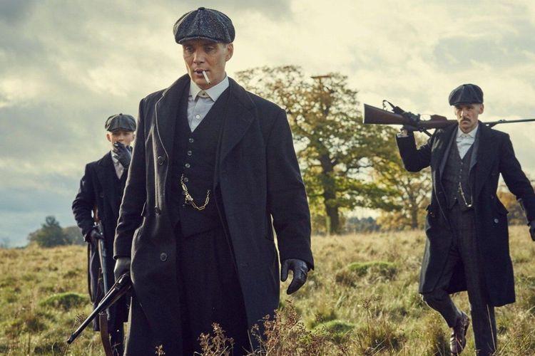 Cillian Murphy dalam serial Peaky Blinders