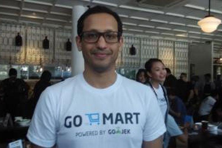 CEO dan pendiri Go-Jek Nadiem Makarim