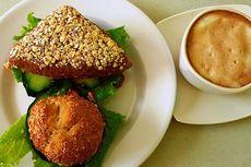 Sehat dengan Roti Gandum dan Sayur