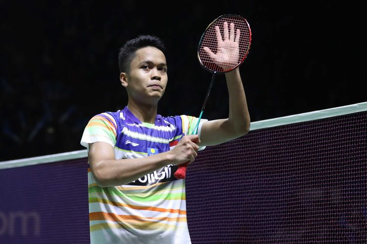 BWF World Tour Finals 2019, Kondisi Angin Sulitkan Anthony Ginting
