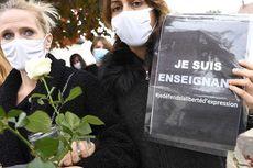 Ribuan Guru Dukung Pengadilan untuk Pemenggal Kepala Guru Perancis