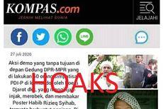 [HOAKS] Bentrok Antar Ormas Agama di Kota Bandung