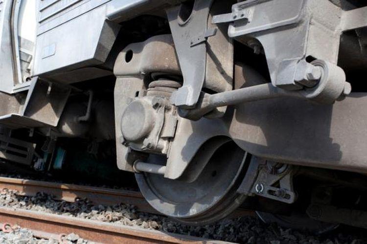 Ilustrasi kecelakaan kereta api