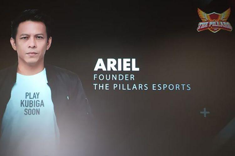 Ariel Noah, pendiri tim e-sports The Pillars
