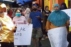 Tolak Rapid Test, Warga di Ambon Demo dan Hadang Petugas Medis