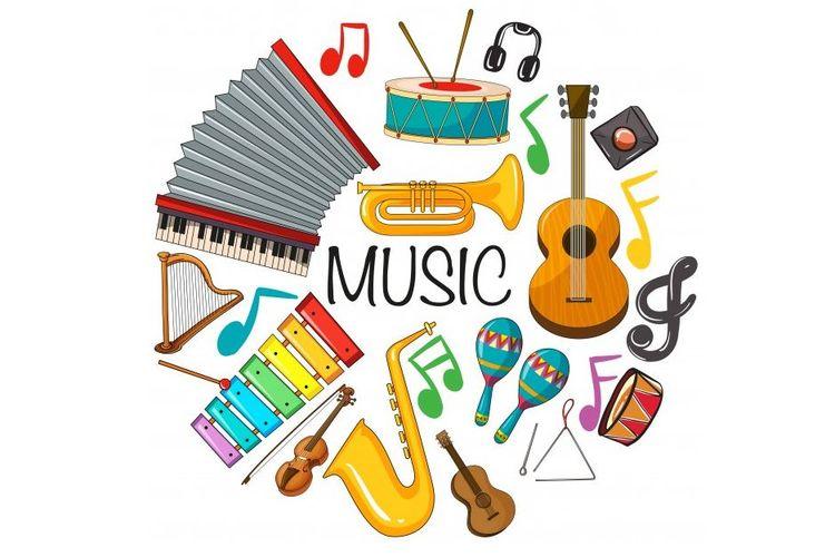 Ilustrasi alat musik
