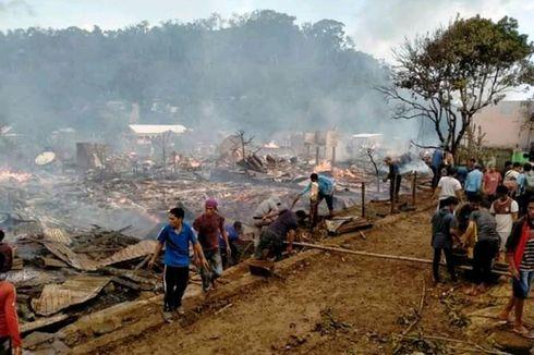 Ledakan Aki Hanguskan 100 Rumah di Sumbawa, BPBD: Mobil Damkar Kesulitan Jangkau Lokasi