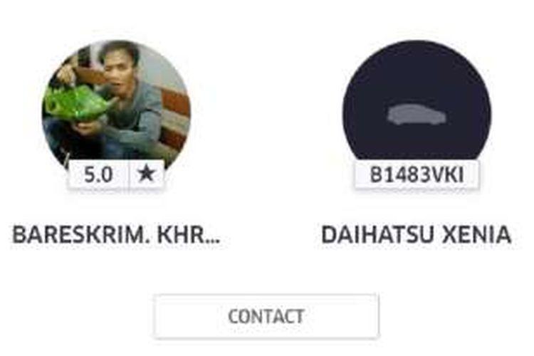 Supir Uber beridentitas palsu ditemukan.