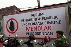 Pengosongan Ruko Cimone, Saran Polisi yang Akan Dilaporkan ke Polisi