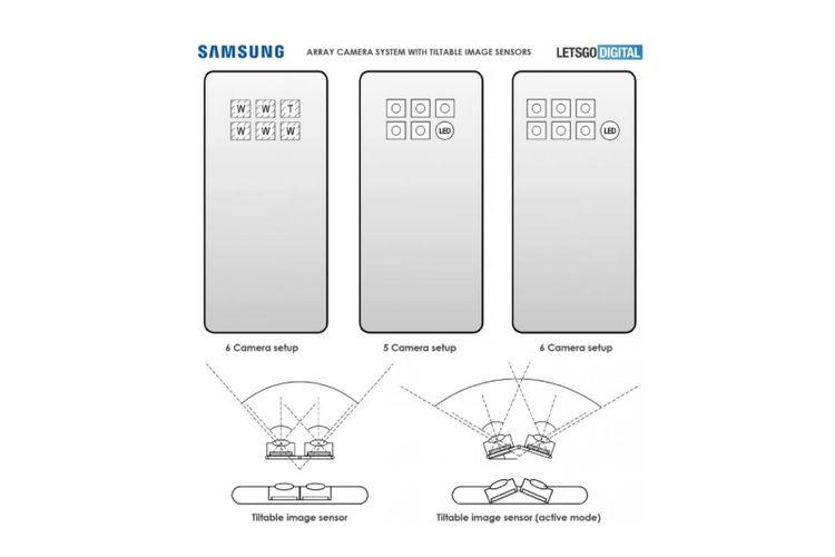 Paten smartphone Samsung