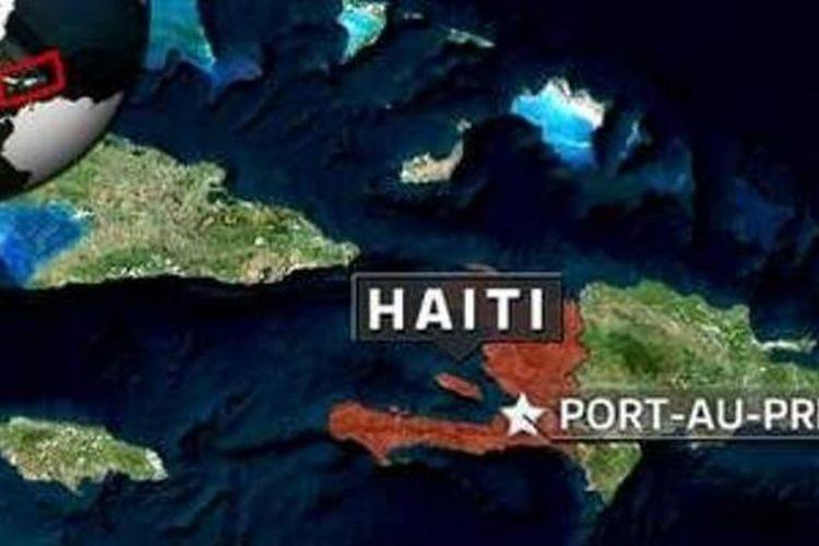Peta Haiti.