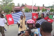 Gubernur Port Moresby Kibarkan Bendera Bintang Kejora