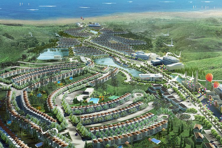 Borneo Paradiso, Balikpapan, Kalimantan Timur.