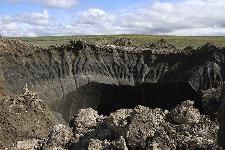 Lubang besar di Siberia