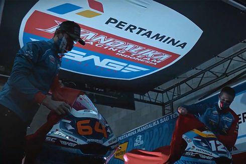 Pertamina Mandalika SAG Team Resmi Luncurkan Livery Moto2 2021