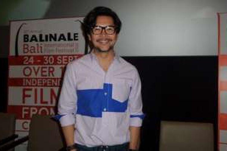 Ferry Salim hadiri konferensi pers Balinale 2016 di Cinemaxx, fX Lifestyle, Jakarta Pusat, Selasa (6/9/2016).