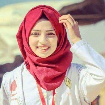 Razan Al-Najar, relawan medis Palestina yang tewas ditembak di dada ketika berusaha menyelamatkan demonstran terluka di Jalur Gaza Jumat (1/6/2018).