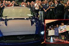Unit Pertama Mustang 2015 Dilelang untuk Amal
