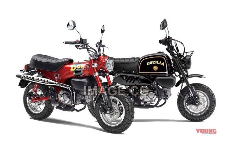 Honda Gorilla dan Dax 125 generasi baru