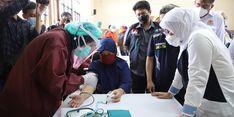 Soal Vaksinasi Pekerja, Menaker Ida: Diharapkan Dapat Memperkuat Kesehatan