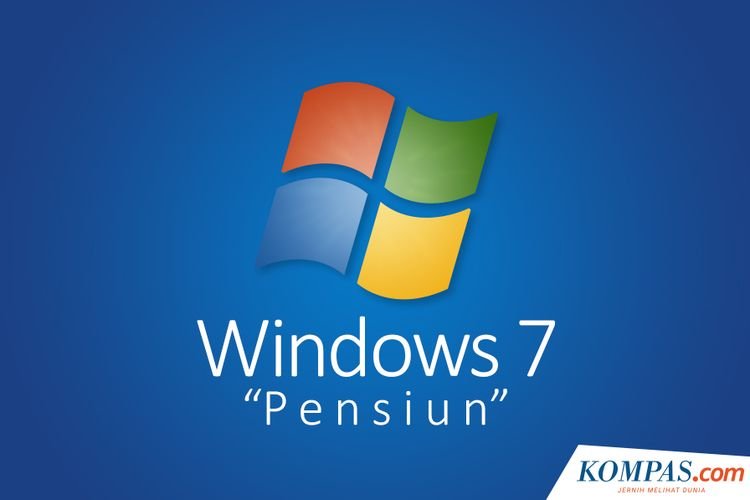 Windows 7 Pensiun