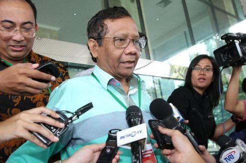 Mahfud MD: KPK Tak Bisa Jadi Subyek untuk Hak Angket