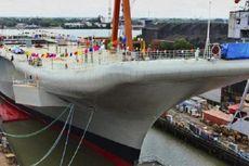 India Luncurkan Kapal Induk Bikinan Sendiri