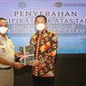 Bupati Lamongan Terima 10 Sertifikat Aset Daerah dari BPN
