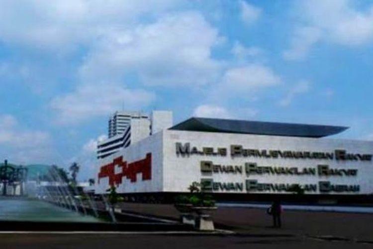 Ilustrasi Gedung MPR/DPR/DPD