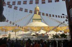 Donasi 31 Kg Emas Wujudkan Restorasi Stupa Boudhanath di Nepal