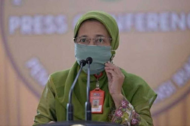 Kepala Dinas Kesehatan (Diskes) Riau, Mimi Yuliani Nazir. Dok Humas Pemprov Riau