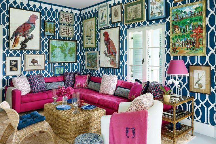 Ilustrasi ruang tamu.